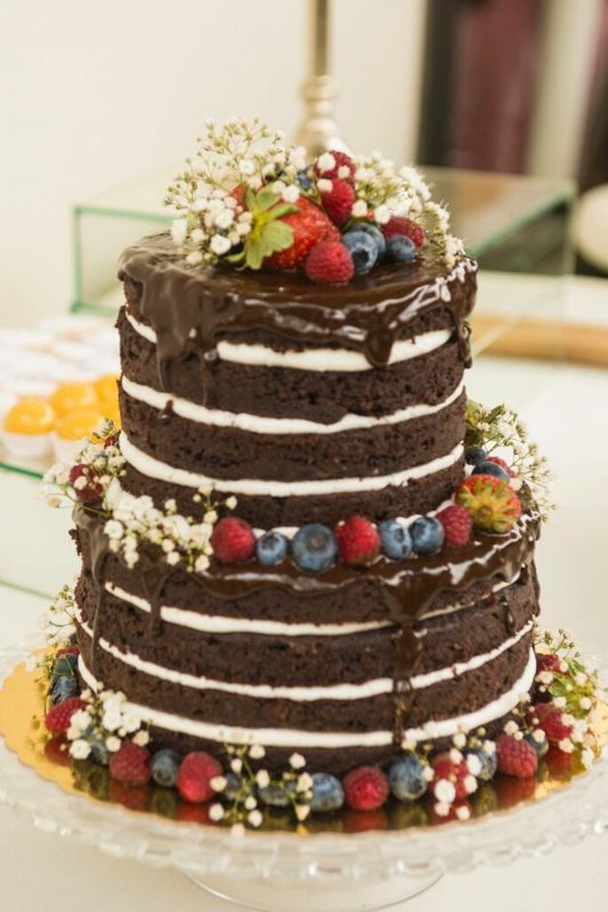 Cinco ideas increíbles para decorar tu torta desnuda o