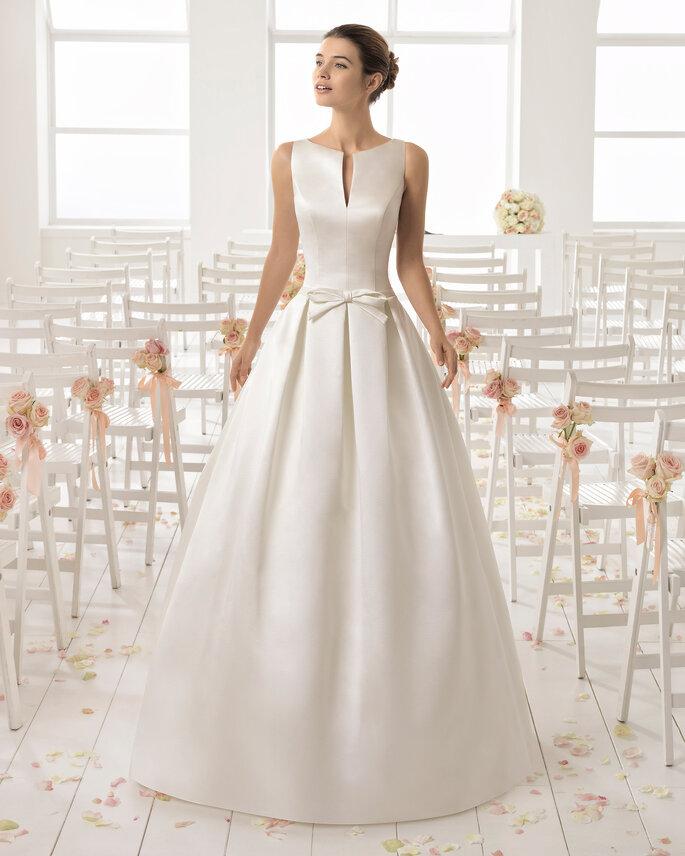 Brautkleider mit U-Boot-Ausschnitt