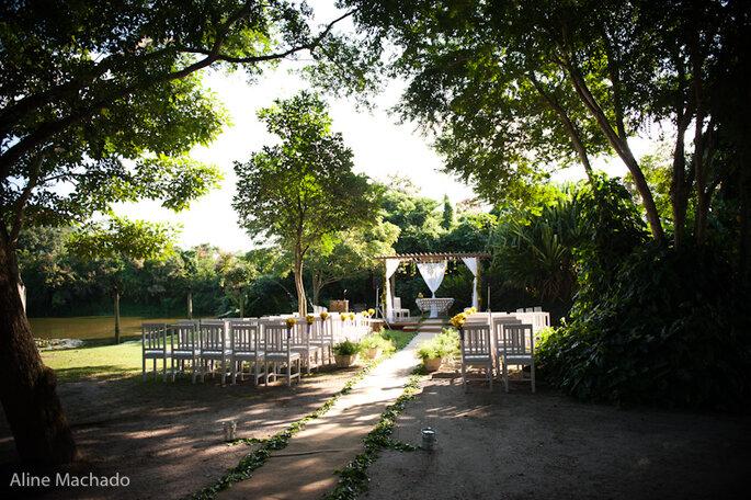 Heiraten im Freien ist am Land möglich- Foto: Aline Machado.