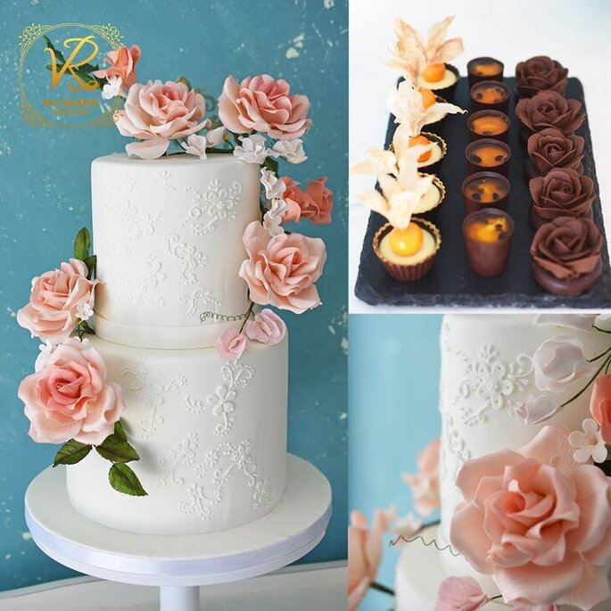 Doces de casamento Rui Valente Cake Design