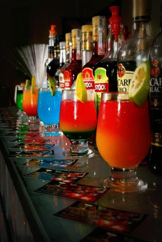 Cómo calcular la bebida para tu boda - Fotos: La Maison du Cocktail