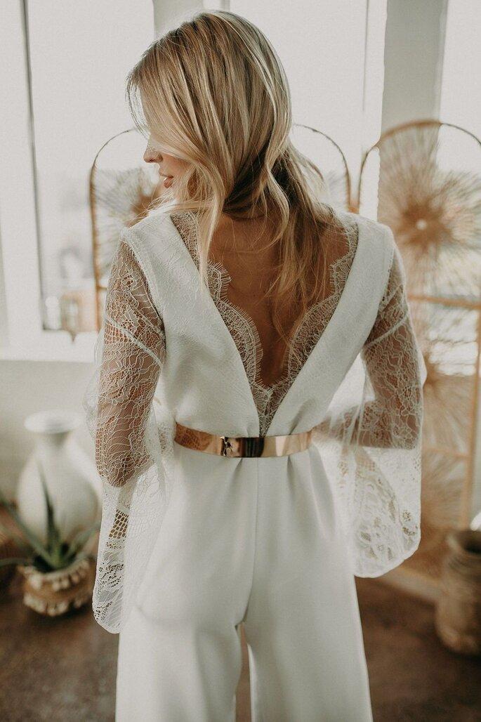 Hosenanzug Braut