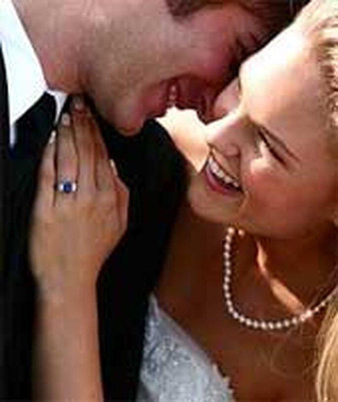 Un filo di perle per la sposa semplice ed elegante