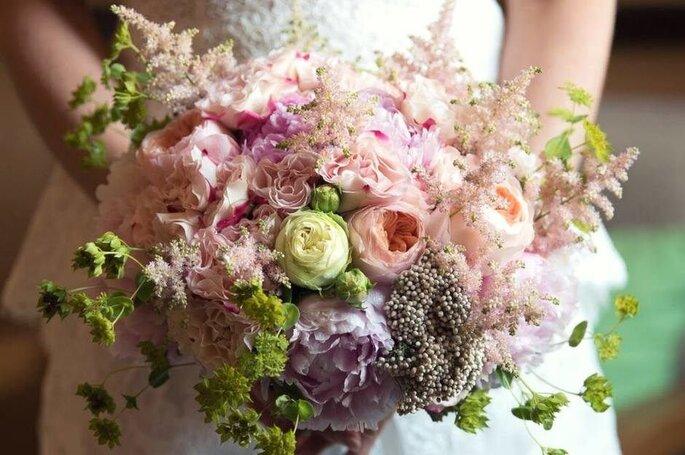 Rosella Antonelli - Creazioni Floreali - bouquet sui toni del rosa