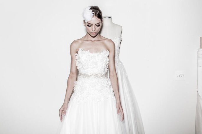 Vestidos com estilo da noiva