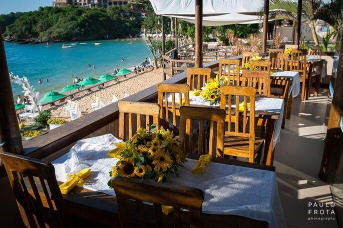 Restaurante aberto ao público