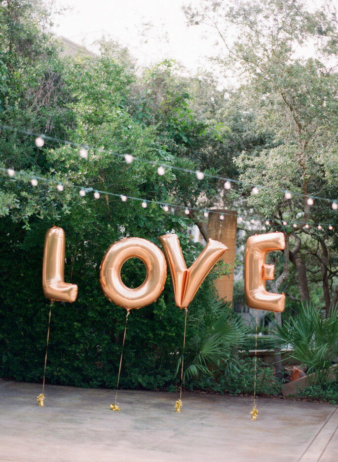 Globos para decorar tu boda - Lauren Kinsey Fine Art Wedding Photography