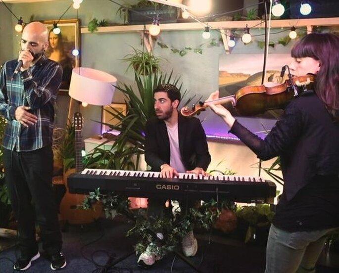Pau de Canela música en vivo Barcelona