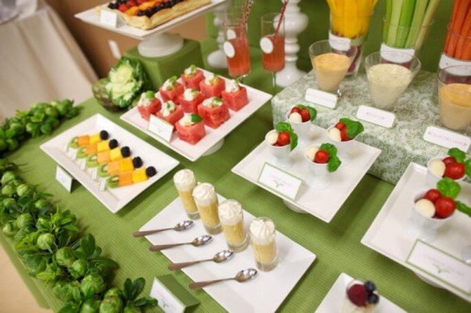 Entradas vegetarianas - Foto Kayol Wholesale