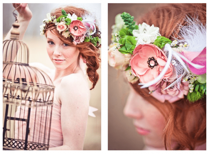 Shabby chic styling for your pre wedding photography session for Salon style shabby chic