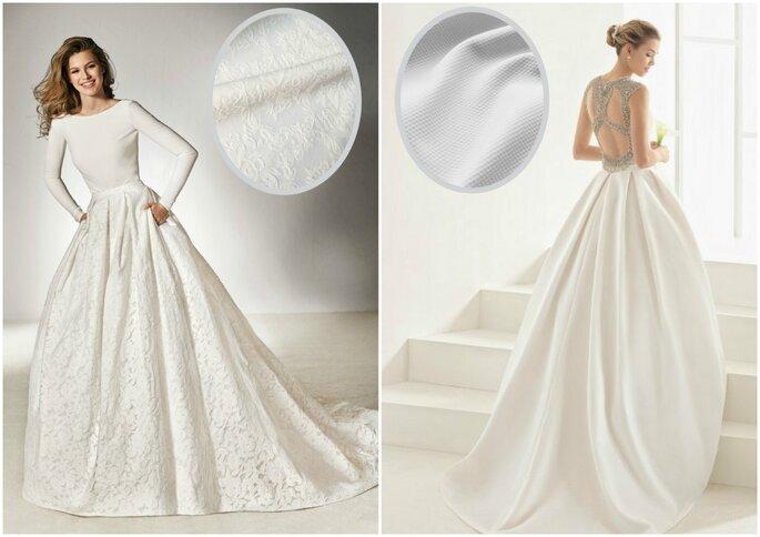 Robe de mariée brocard