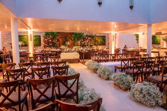 Ambiente para realizar de mini wedding