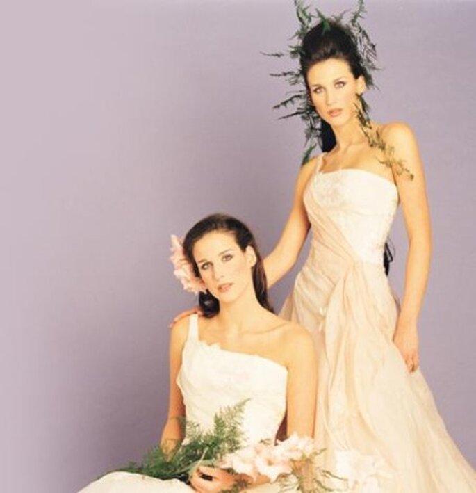 Tocados de novia de estilo silvestre