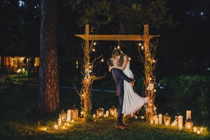 Организация и декор :свадебная студия Безе