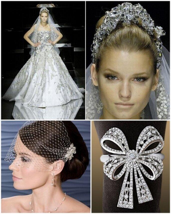 Decoraci n de una boda con cristales swarovski for Cristales swarovski para decorar unas