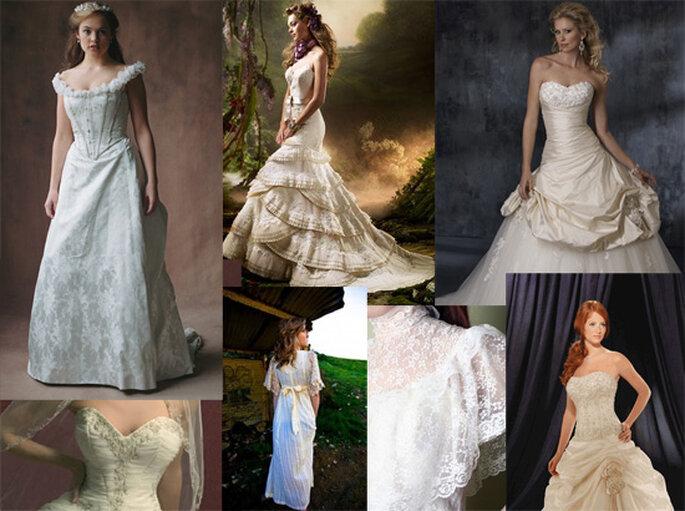 abito da sposa stile vittoriano victorian wedding dress