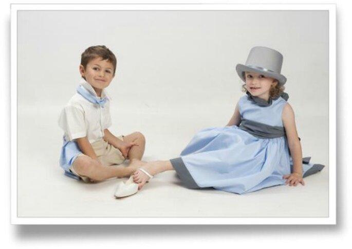 Les enfants d'honneur nous font toujours craquer ! source : Cortège d'anges