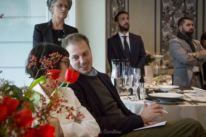Matteo di Matrimoni all'Italiana, tra il pubblico del nostro Breakfast natalizio