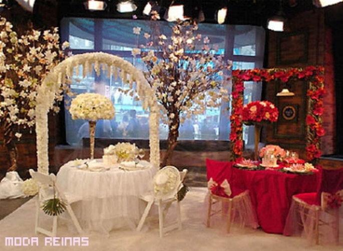 Quieres una boda sencilla mira c mo se decora for Decoracion de bodas sencillas y economicas en casa