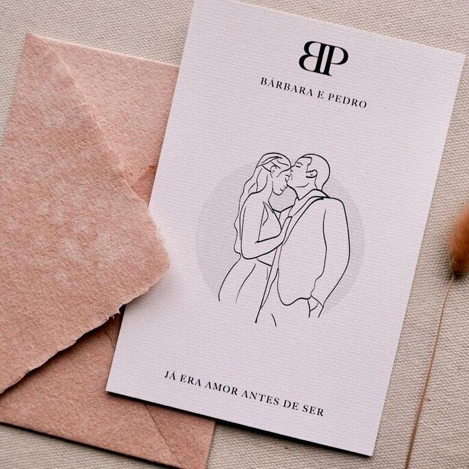 Convite de Bárbara e Pedro