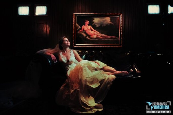 Poses de fotos de novia.Foto de Danny Cuevas.