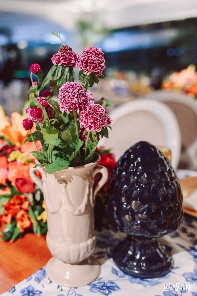decoração casamento flores
