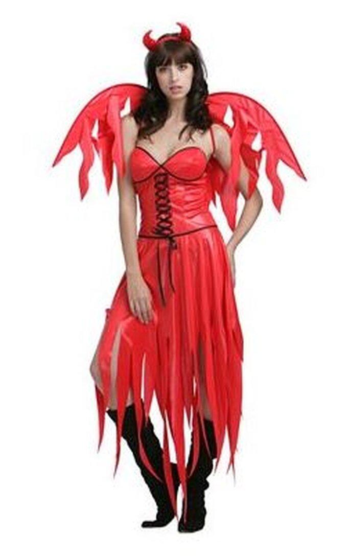 Disfraz de diablita para una novia bien atrevida
