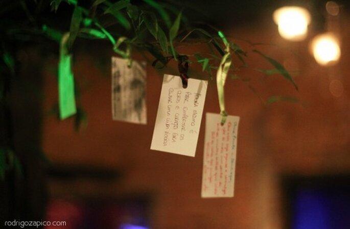 Árbol de los deseos para tu boda. Imagen Rodrigo Zapico