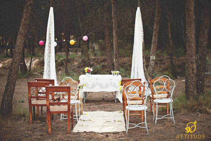 Heiraten mitten im Grünen – Foto: attitude