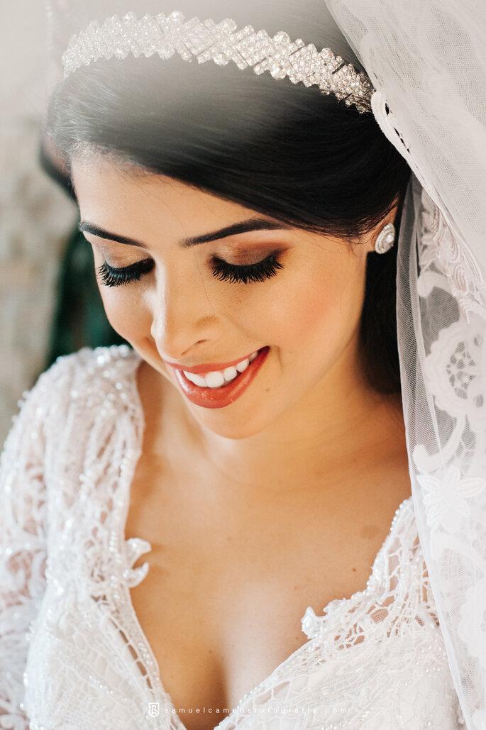 Acessórios de cabelo da noiva