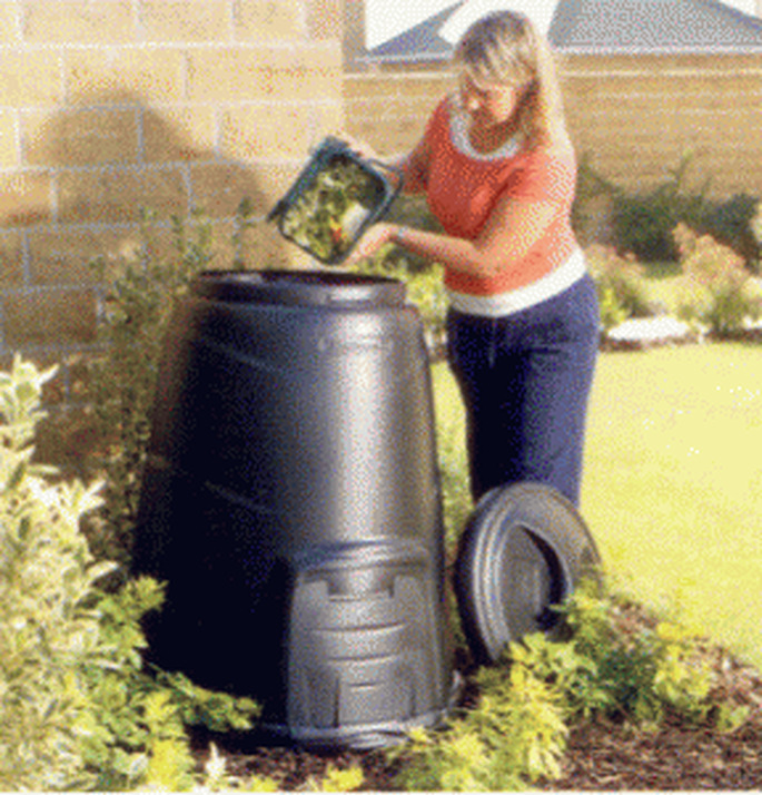 A compost bin is a sustainable gift