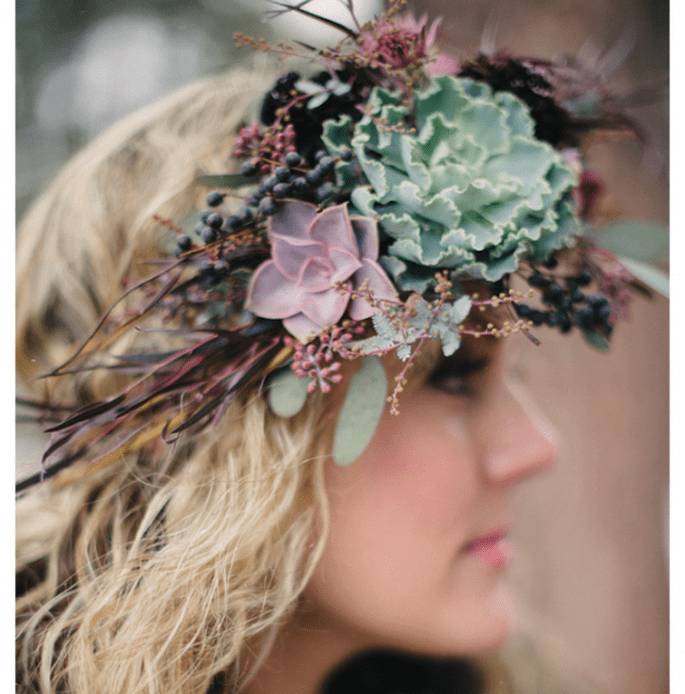 Decoración de boda inspirada en una temática folclórica - Foto Bellamint Photography