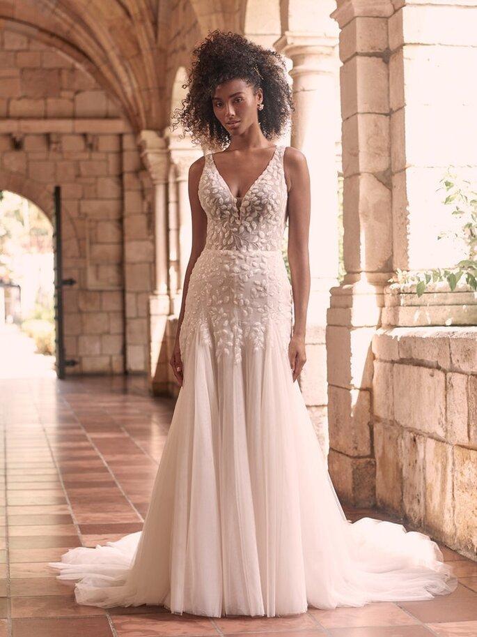 Robe de mariée empire originale