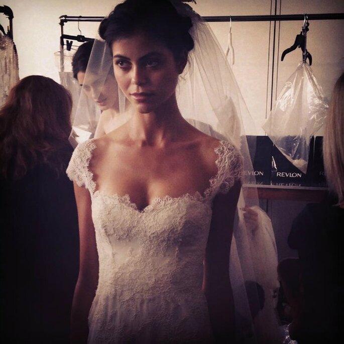Marchesa, colección de novia 2015. Foto: redes sociales