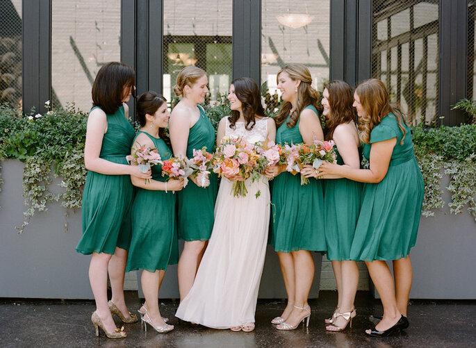 Los 10 mandamientos para ser la dama de boda perfecta - Rebecca Yale Portraits