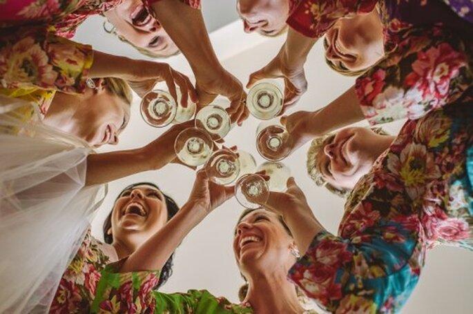 Evita beber de mas antes de la boda - Foto Dennis Berti