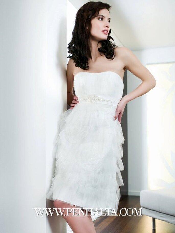 Robe de mariée courte Cupidus - Penhalta 2012