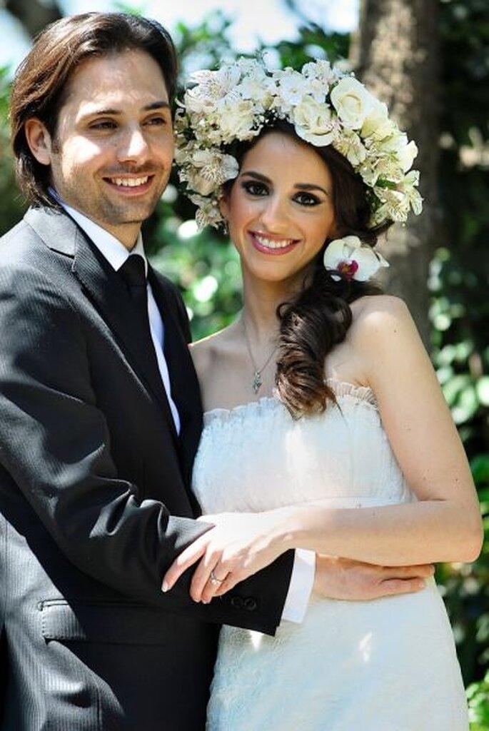 Ein glückliches Hochzeitspaar - Barrera & Fitch photogrraphy Lidia Fitch Fotogapher  http://www.barrerafitch.com/