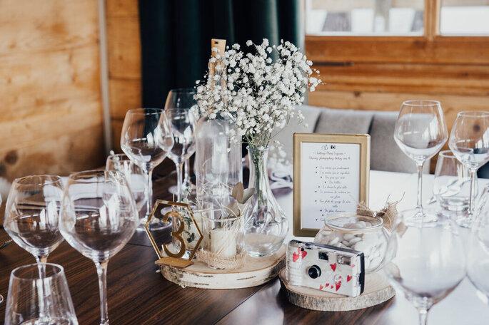 Dîner de mariage dans un hôtel à Cordon