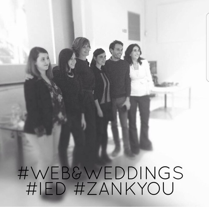 Gli speaker del nostro primo Web&Weddings by Zankyou (Foto: Dafne Giacobbe - Weddings&Dreams)