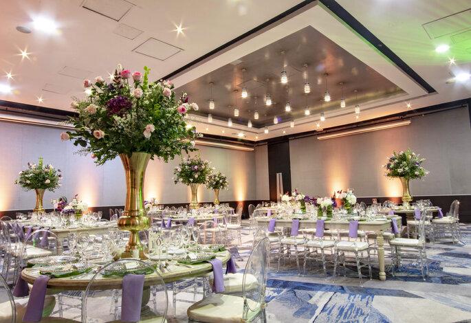 Hotel Hilton Bogotá boda elegante