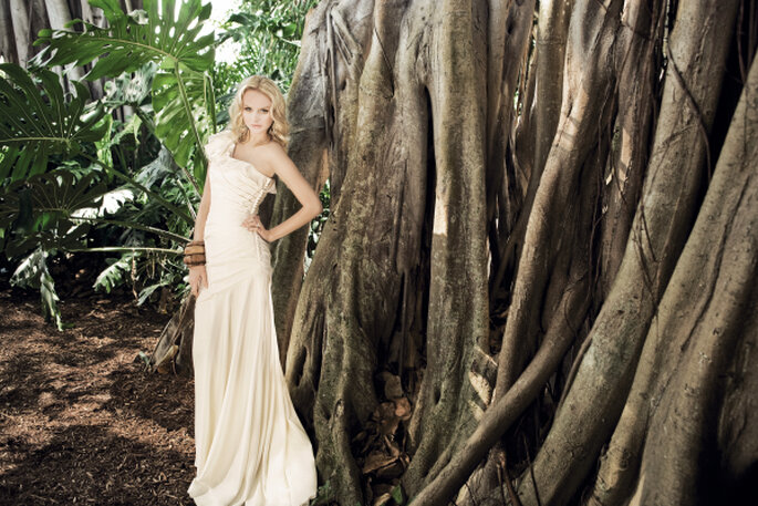 Vestidos de novia ecológicos. Pure, Justin Alexander