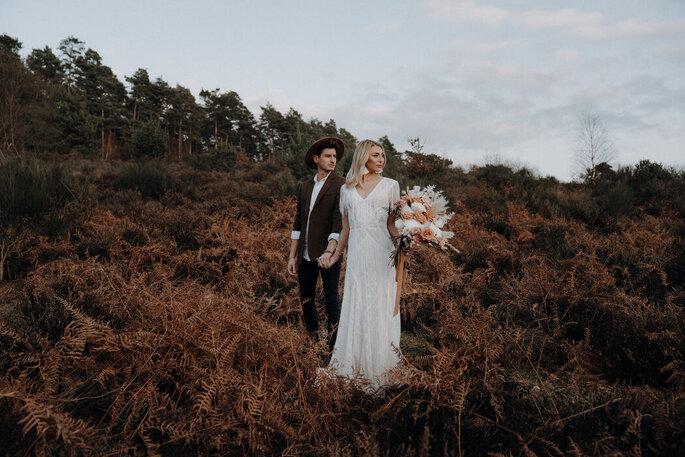 Brautpaar Herbst