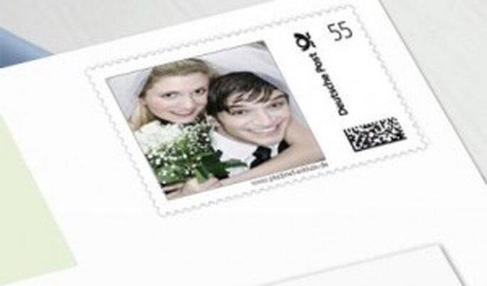 Gestalten Sie Ihre persönlichen Briefmarken