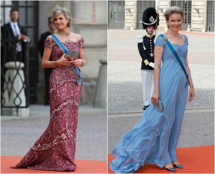 Reinas Máxima de Holanda y Matilde de Bélgica. Créditos: Gtres Online