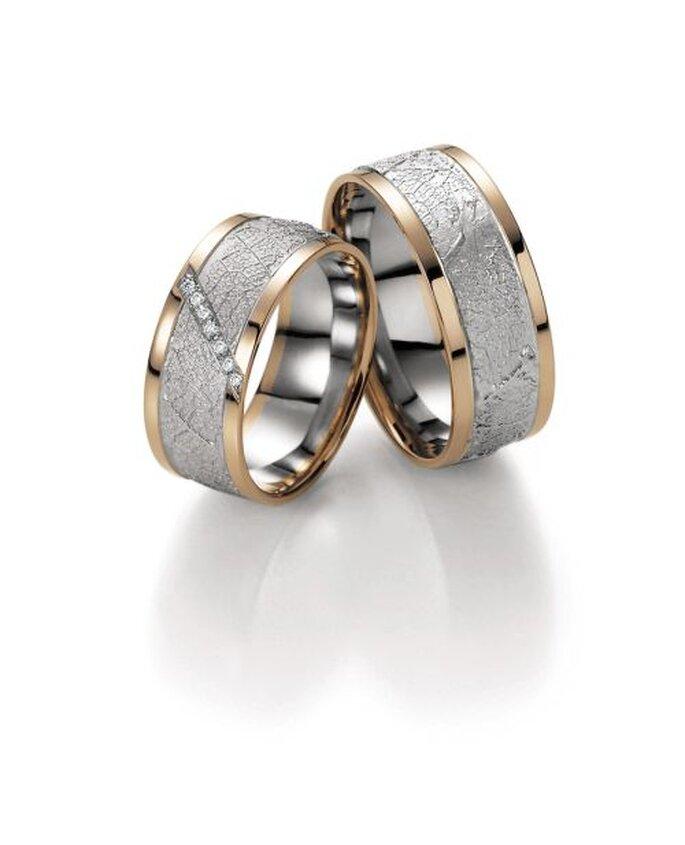 auffallender Ehering mit Diamanten - http://www.bayerschmuck.com