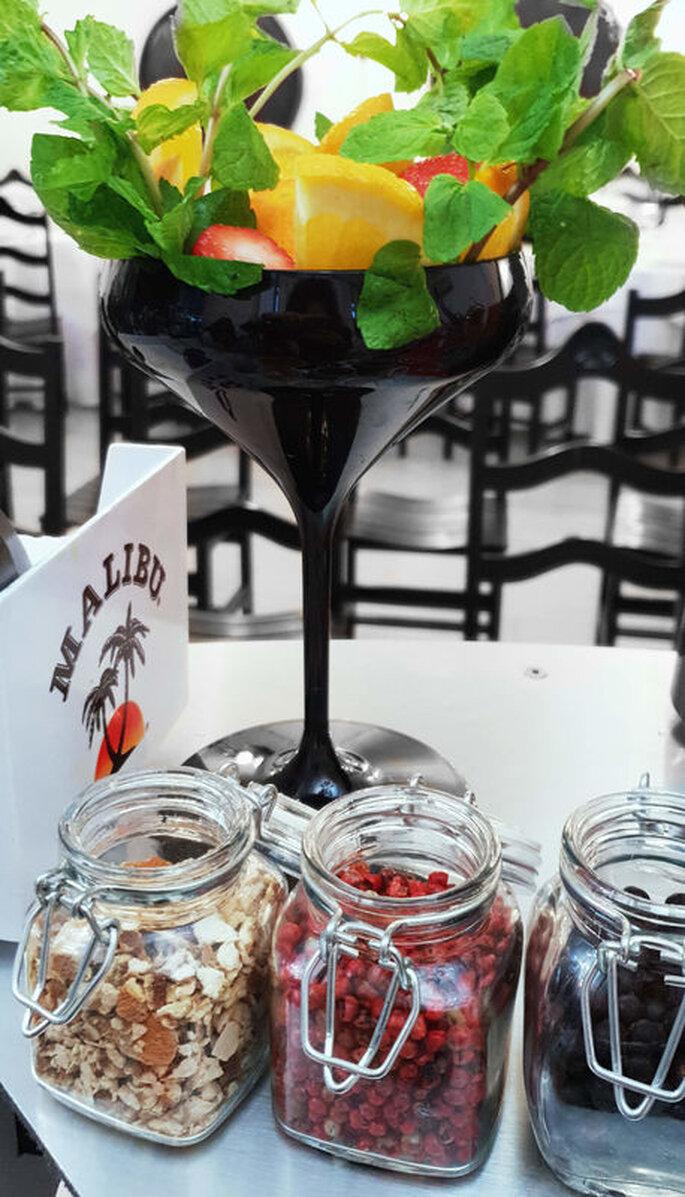 Ornamentos de cocktails