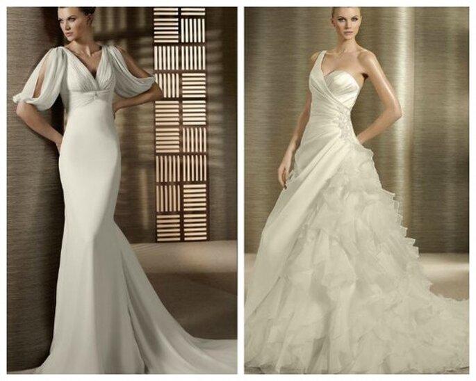 kolekcja sukien ślubnych 2012 hiszpańskich