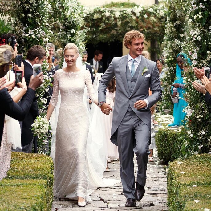Pierre Casiraghi et Beatrice Borromeo.