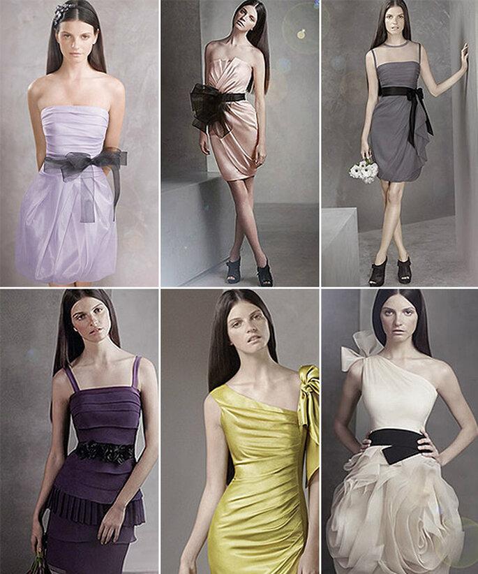 Vestidos económicos de Vera Wang para David's Bridal